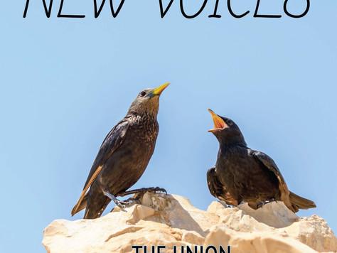 """Листается как настоящая! Электронная версия сборника """"NEW VOICES"""" уже на сайте СРПИ."""