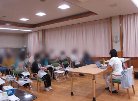 高齢者福祉施設でのフットケア指導〜座学と実技〜
