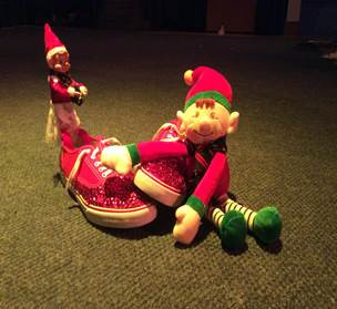 The Elves cause havoc in the Server Room!