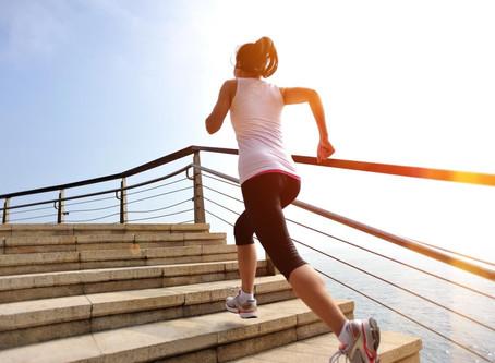 Escaleras para correr bien