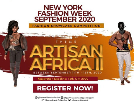 The Wearable Art Collective is Promoting African Designers in New York With This Competition