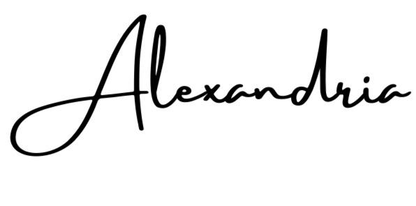 Alexandria's Signature