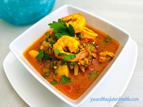 Saffron & Seafood Soup