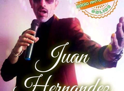 JUAN HERNANDEZ, UNA VOZ QUE EMOCIONA EN VIVO POR FB LIVE DE RADIO ANTOFAGASTA ONLINE