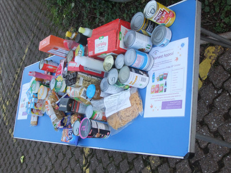 Harvest Appeal way on its way!