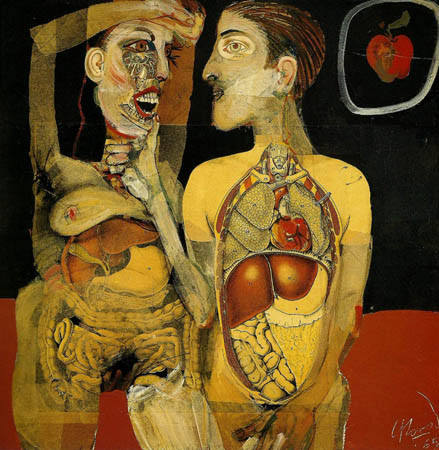 Carlos Alonso, Adam and Eve, 1965