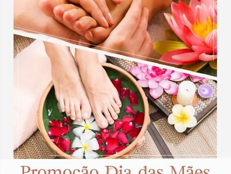 Promoção do Mês de Maio - Reflexologia Podal Relaxante