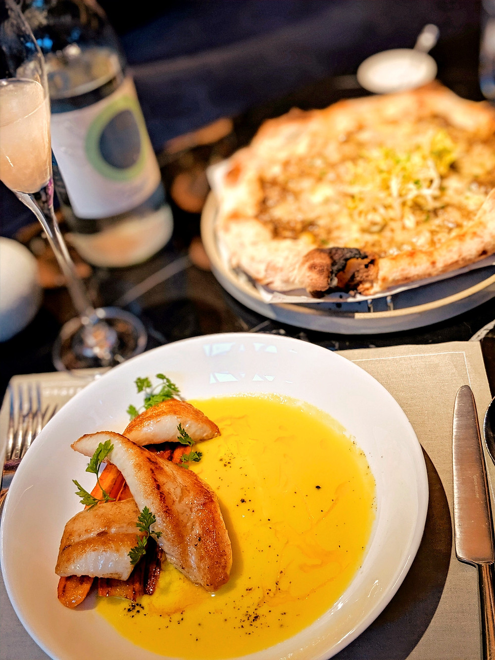 Connaught Hotel, London, Jean Georges, lunch