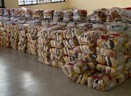 Rede Cidadã doa 200 cestas para a campanha Comunidade Viva sem Fome