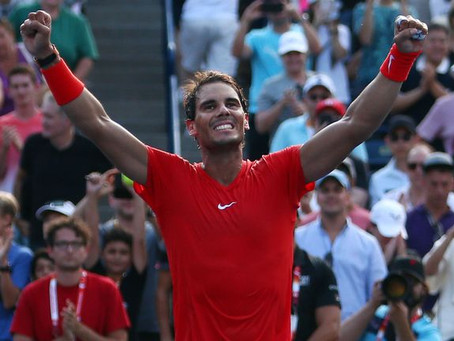 NADAL WINS 5TH TITLE OF THE YEAR IN TORONTO