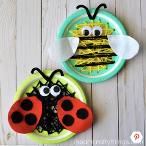10 Cute and Crawly Insect Crafts for Kids