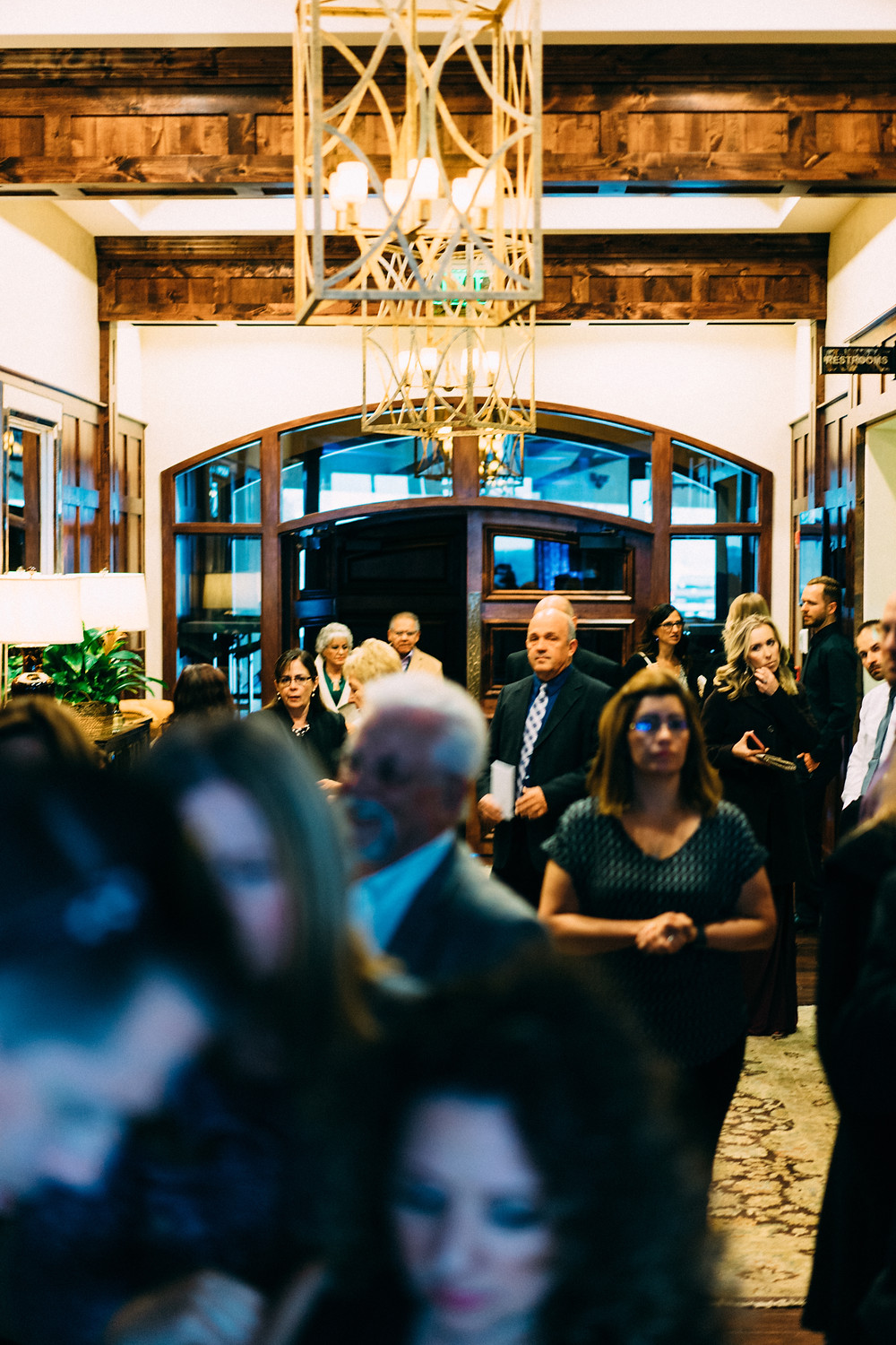 Guests arriving at The Pinery
