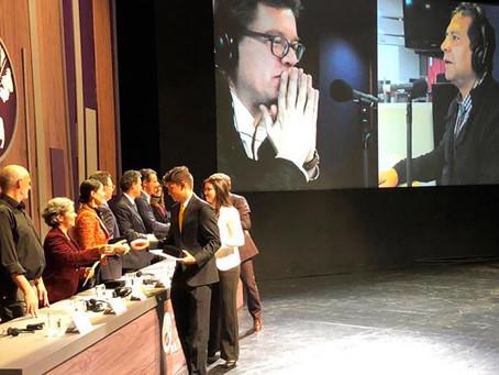 Telecaribe y Alberto Salcedo ganadores del Premio de Periodismo Simón Bolívar