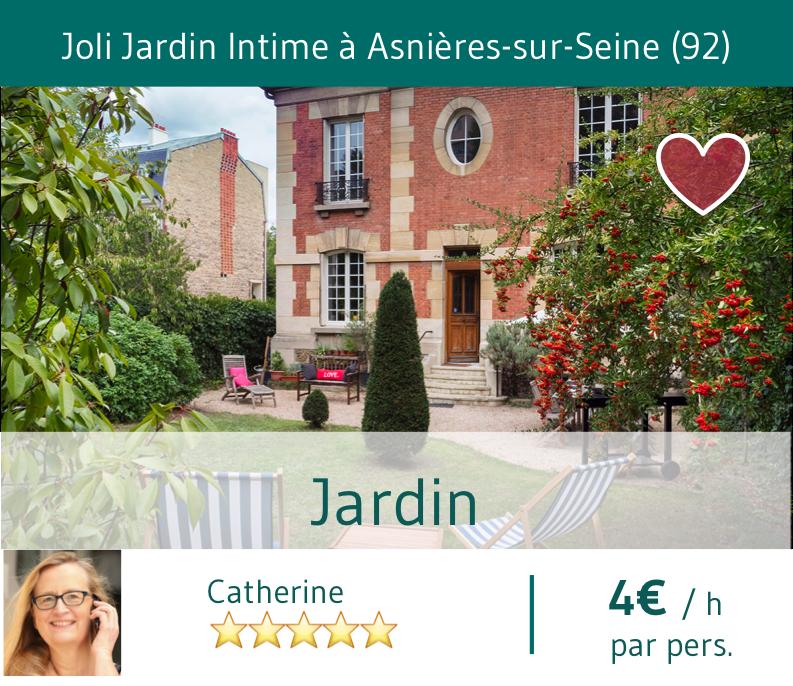 Catherine Jardin Asnières