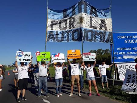 Vecinos de Lima cortaron la ruta exigiendo su autonomía