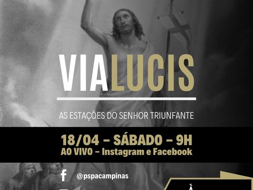 Paróquia transmite Via Lucis no sábado das Oitavas Pascais