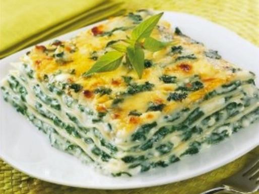 Lasagne Chèvre Épinard
