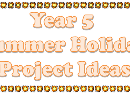 Year 5 Summer Project