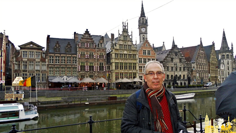 Graslei y Korelei. Gante (Bélgica)