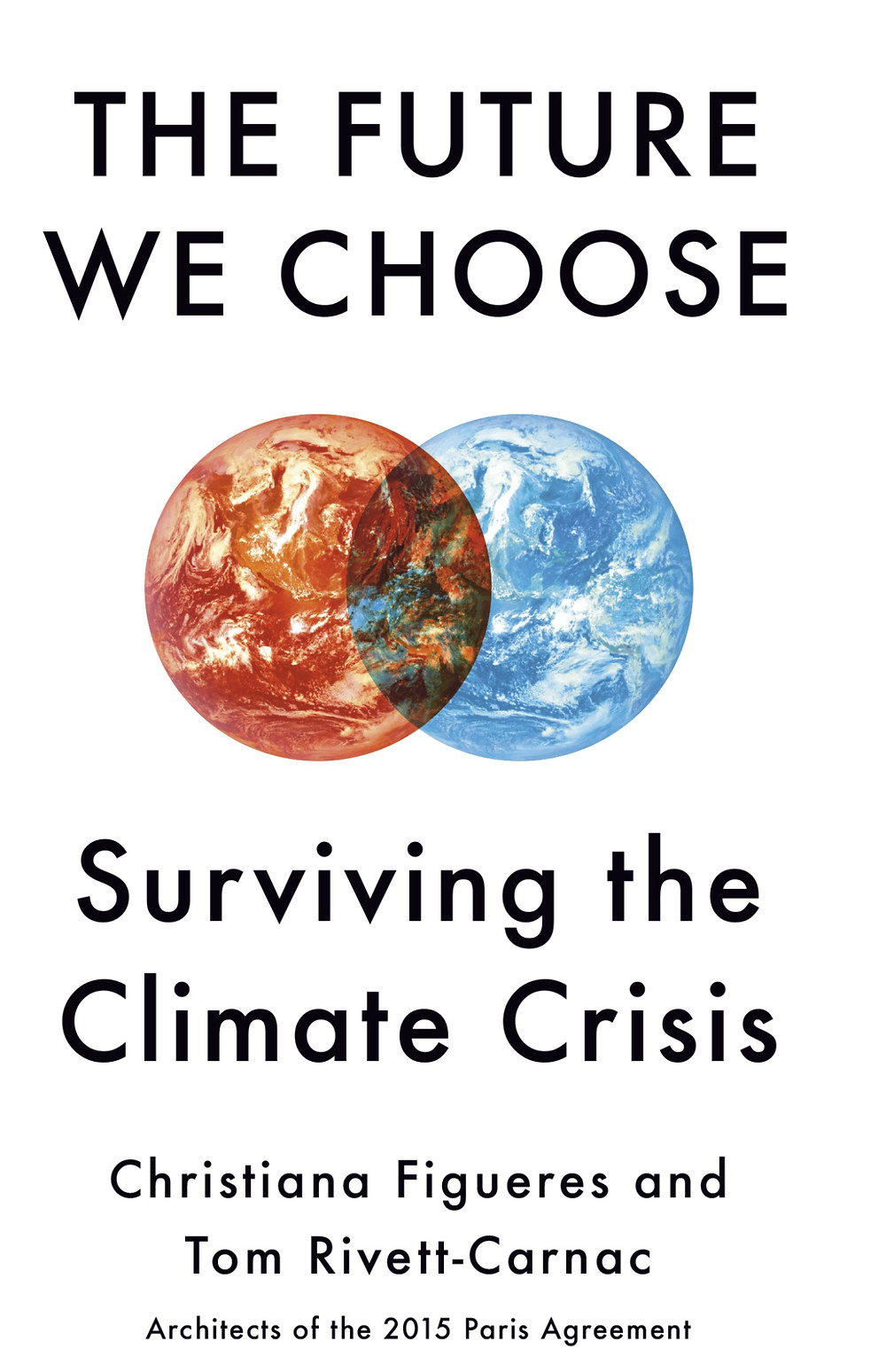 Cover of book: The future we choose: surviving the climate crisis