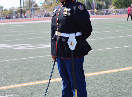"For A Bright Future Awards Semper Fi ""honor""  Scholarship to Ralph Salimbagat"