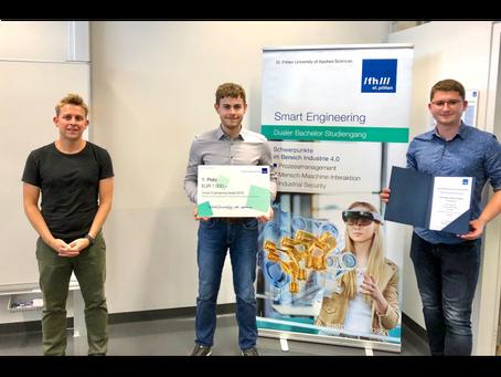 """HTL Waidhofen wieder für """"Produktion der Zukunft"""" mit dem 1. Platz ausgezeichnet"""