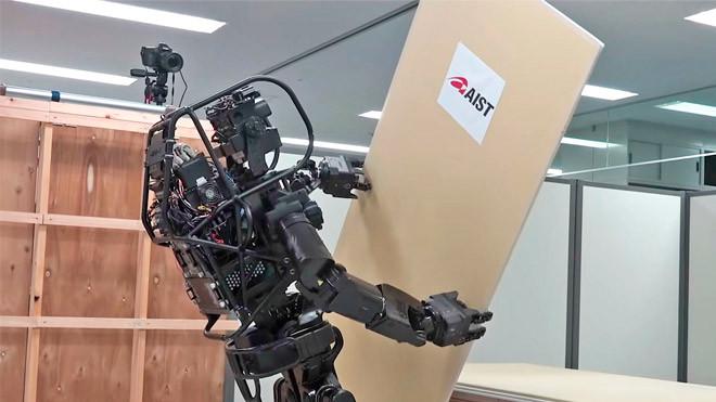 İlk İnsansı Robot İnşaat İşçisi : HRP-5P