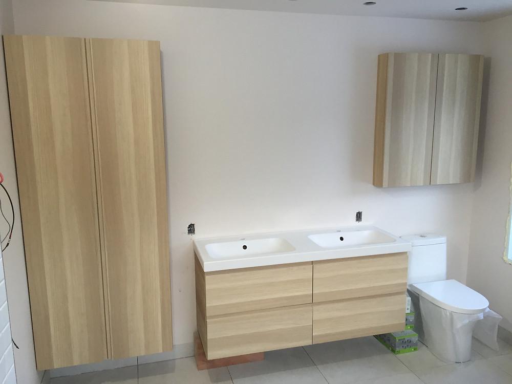 Salle de bain installation à Québec