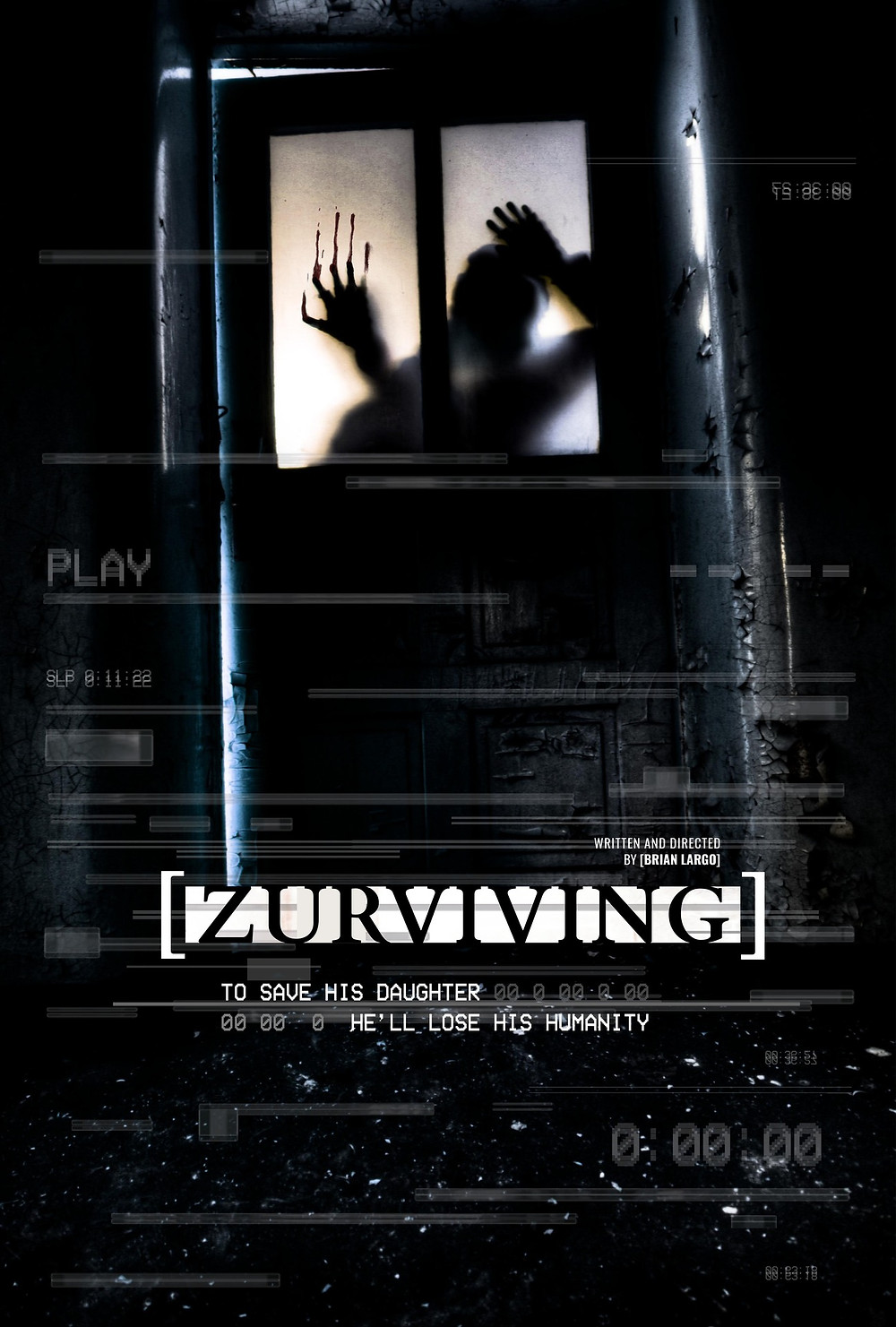 Poster for Zurviving showing character.