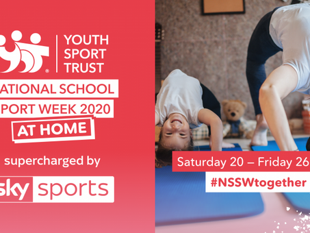 National School Sport Week (at home!) 20th - 26th June