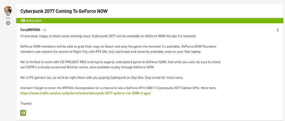 https://www.nvidia.com/en-us/geforce/forums/gfn-announcements/22/343462/cyberpunk-2077-coming-to-geforce-now/?fbclid=IwAR389QRa99p4B1BFB0ALhIurT3m-TZmWB6rAy7K0NN3WUIExkcN1czzZmsU