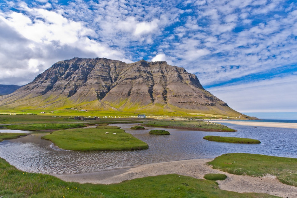 Arnarfjordur en Islande
