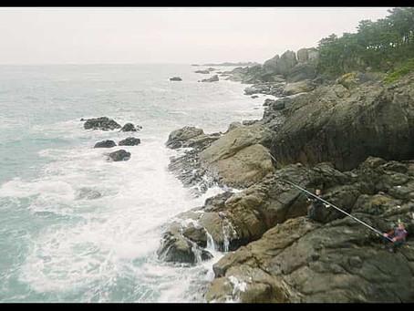 【種差海岸】10/3「種差海岸、撮ったったわ! イェイ!」