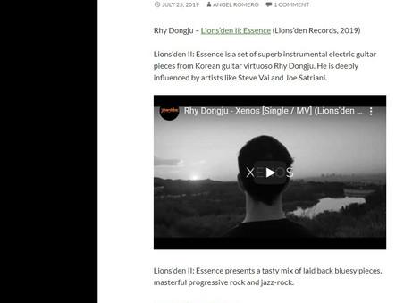 Progressive Rock Central.com reviewed Lions'den II : Essence