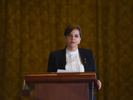 Asamblea censura y destituye a la ministra de Gobierno María Paula Romo