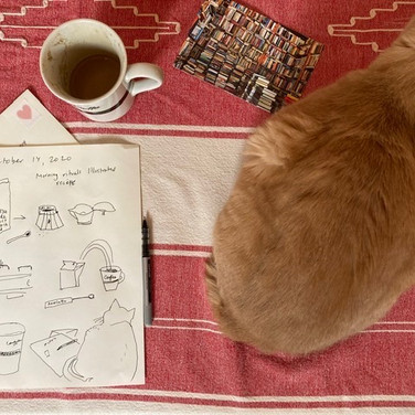 Meridith McNeal,  my morning coffee and letter writing recipe