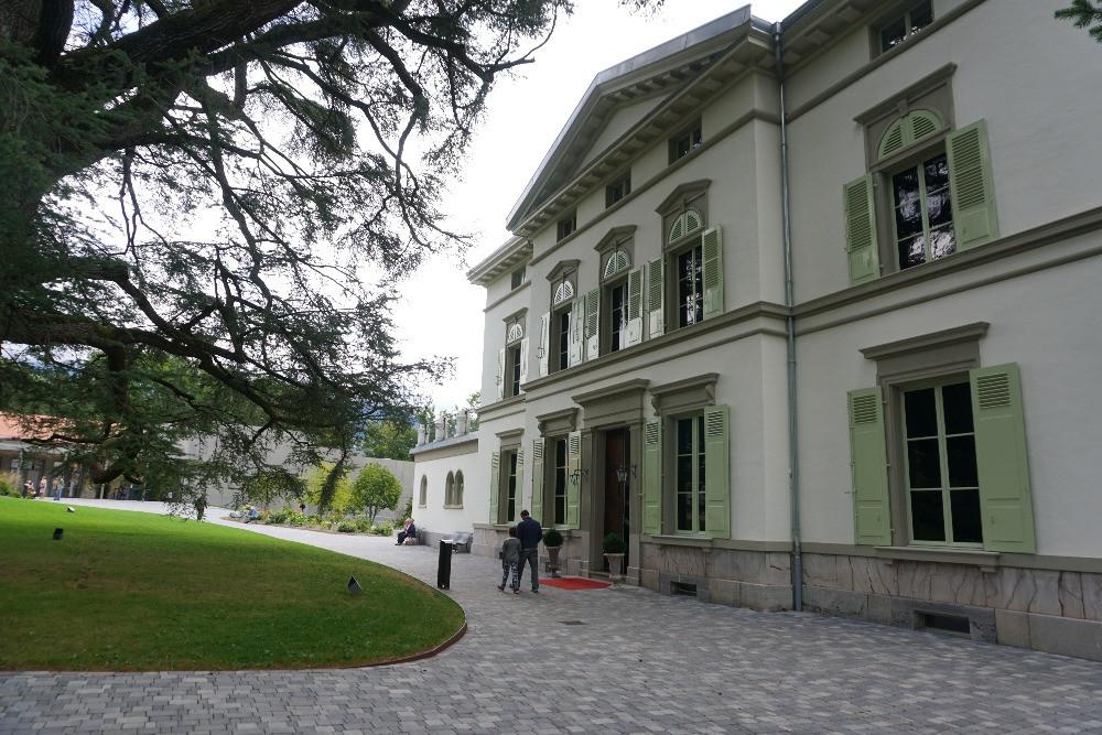 עולמו של צ'אפלין, מוזיאון צ'ארלי צ'אפלין, שוויץ