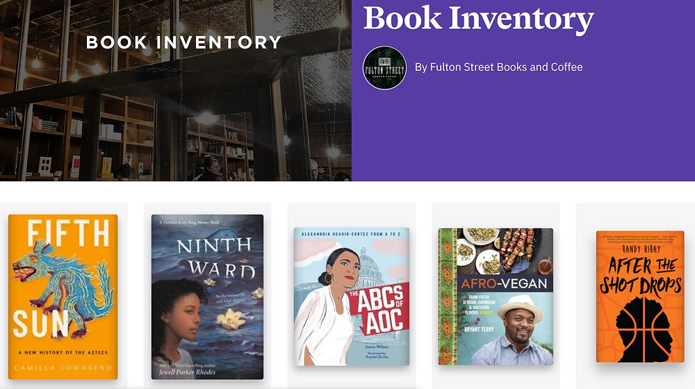 BGD - Fulton Street Books & Coffee Image