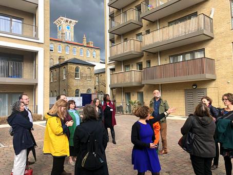 g320 Members Visit Community Led Housing Development