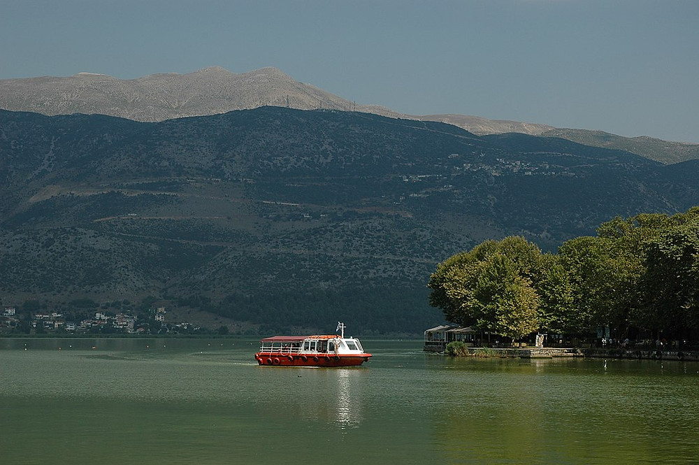 Pamvotida Lake Greece