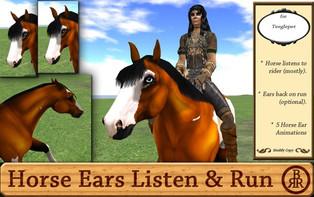 Brass Ring Ranch - TeeglePet Listen & Run Ear Animations