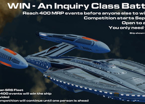 Win an Inquiry Class Battlecruiser