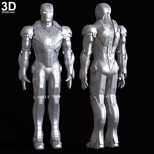Iron Man Mark II MK 2 Armor Suit | 3D Model Project #6003