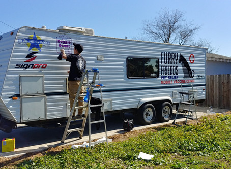 The New Furry Friends Pet Relief Mobile Vaccine Clinic Trailer