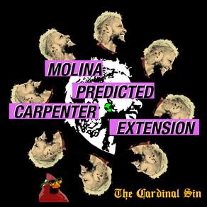 Cardinal Sin: Molina Predicted Carpenter Extension