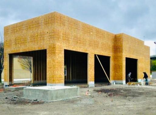 Starbucks Steelyard Commons Project Progress