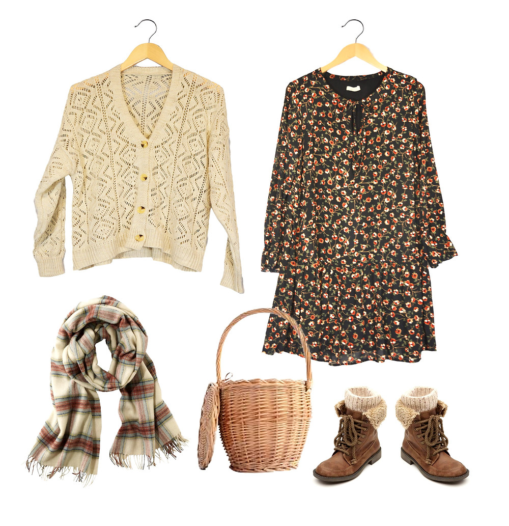 Outfit σε cottagecore mood θα βρεις άφθονα στο κατάστημα Elegance στη Νέα Μάκρη