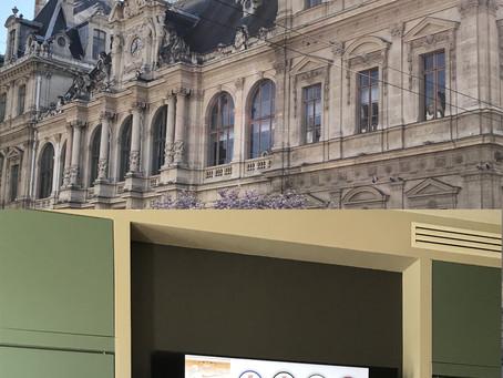 JEUDI nous étions en réunion à Lyon pour la présentation d'une nouvelle SCPI de rendement