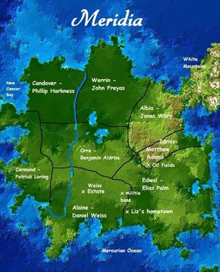 Map of Meridia