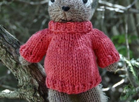 Free Pattern: Polo-neck Pullover